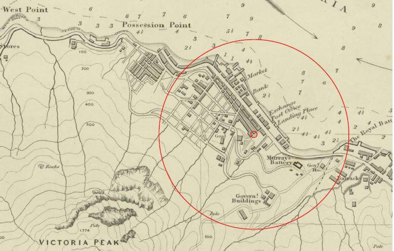 Map 1845 Lead Mine Tymon Mellor