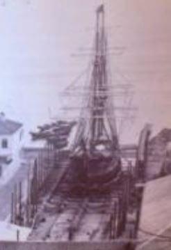 MacDonald Shipyard c1870 image snipped