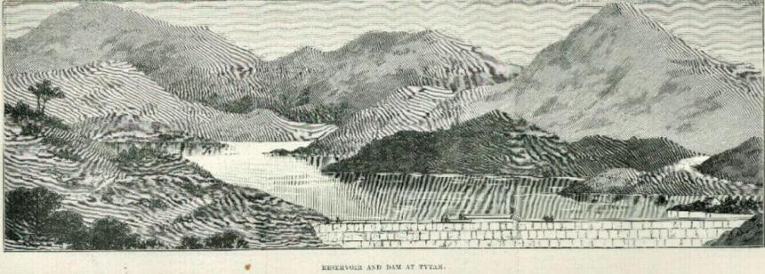 Hong Kong Waterworks Tytam Drawings Illustrated London News November 1889