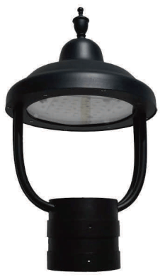 CLP LED Architectural Contemporary Post Top
