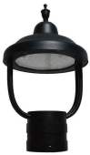LED Architectural Contemporary Post Top Fixtures