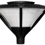 CLP Large Conical Post Top Fixtures by Crystal