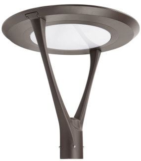 area post top luminaire