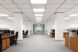 LED T8 Retrofit for Office Building Lighting