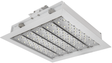 "LED Gas Station Lights Square Canopy 14"" by Arrlux"