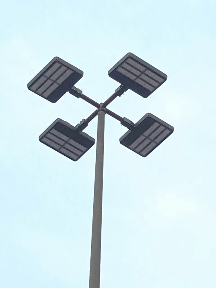 commercial light pole