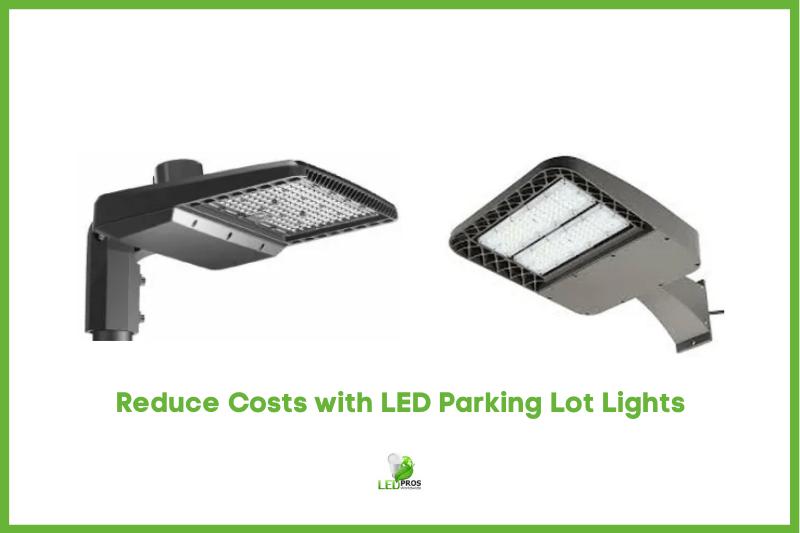 LED parking lot lighting