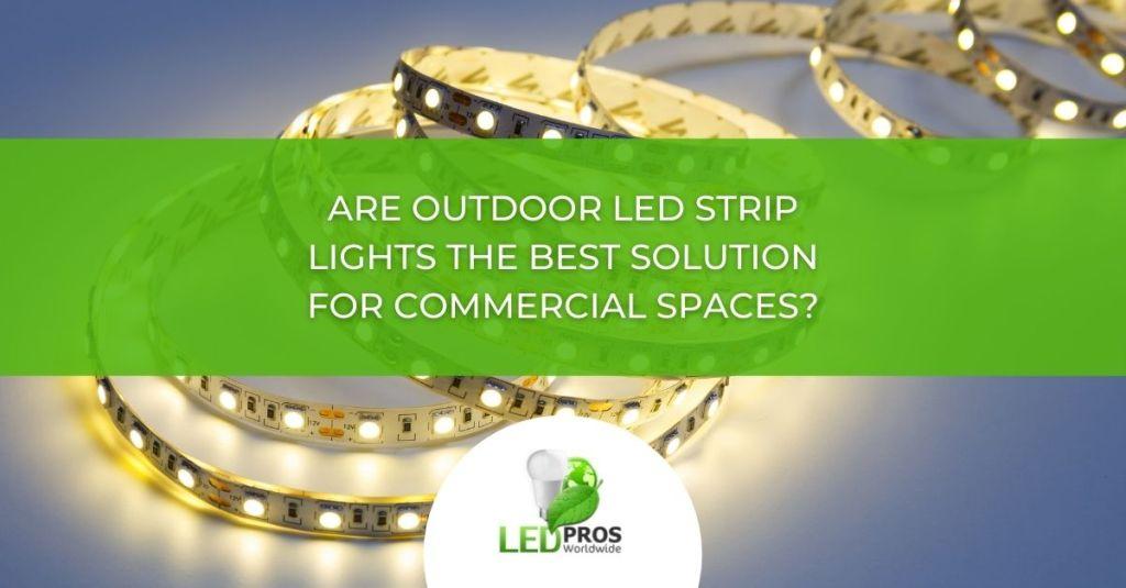 outdoor led strip lights