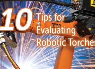 ESAB Robotic Torches Header