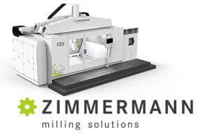 Zimmermann, tool making, mold making,5-axis gantry milling machine, FZU