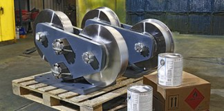 Hamilton Caster, Flanged In-Line Caster