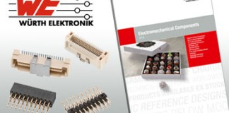 Würth Elektronik, catalog, electromechanical components