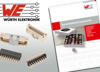 Würth Elektronik, catalog, electromechanical components
