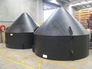 PE100 Funnel Tanks