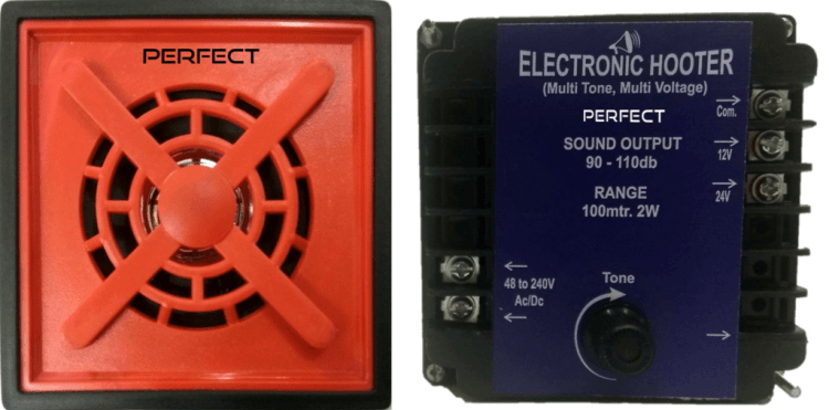 96 X 96 Electronic Panel Hooter / Industrial Buzzers