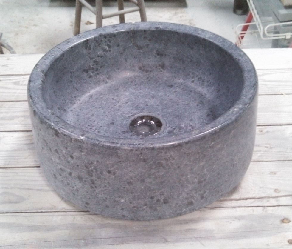 16in Soapstone Bar / Vessel Sink