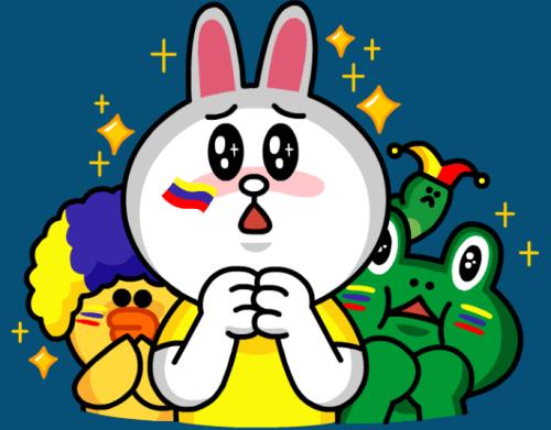 line-tricolor