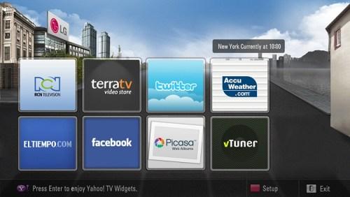 Netcast en Colombia LG