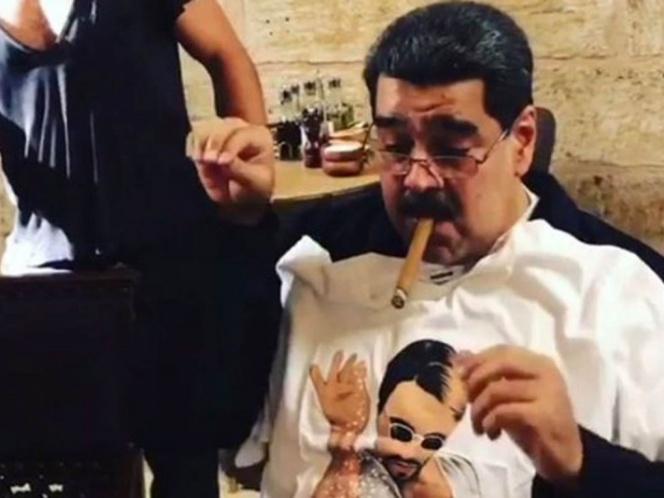 Nicolás Maduro en lujoso restaurante, mientras en Venezuela mueren de hambre