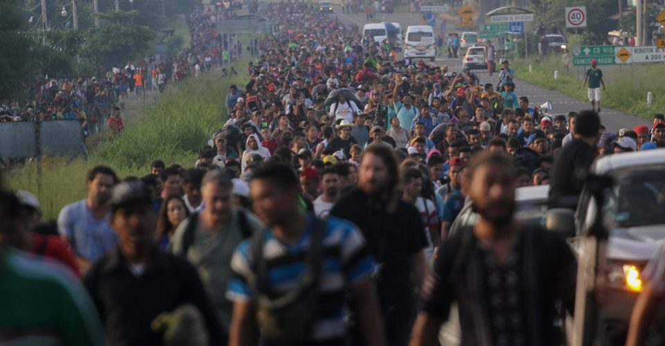 México busca crear programa de jornaleros para dar trabajo a migrantes centroamericano