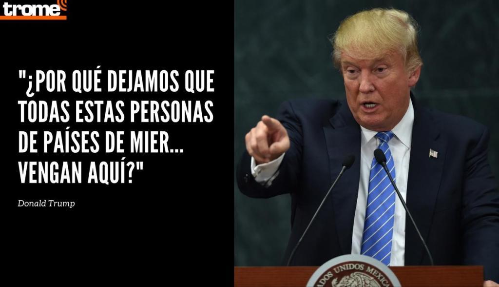 Trump firma decreto para limitar asilo a inmigrantes