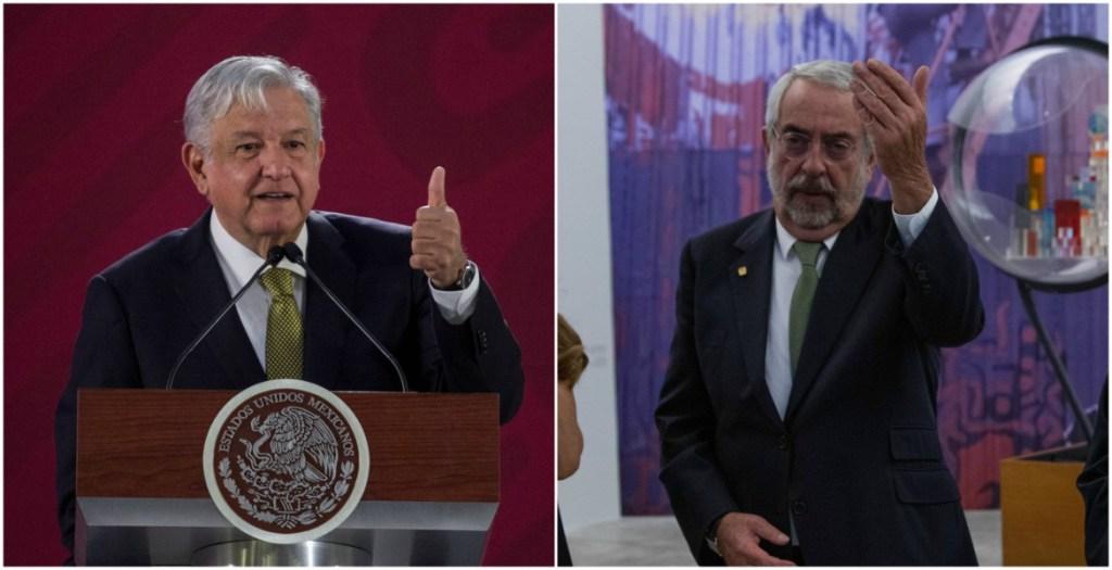 La UNAM debe hacer más con menos y acabar con los lujos: López Obrador