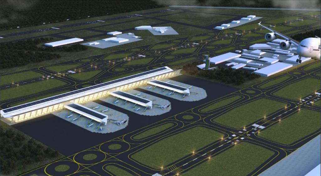 Talarán más de 5,000 árboles para construir el aeropuerto de Santa Lucía