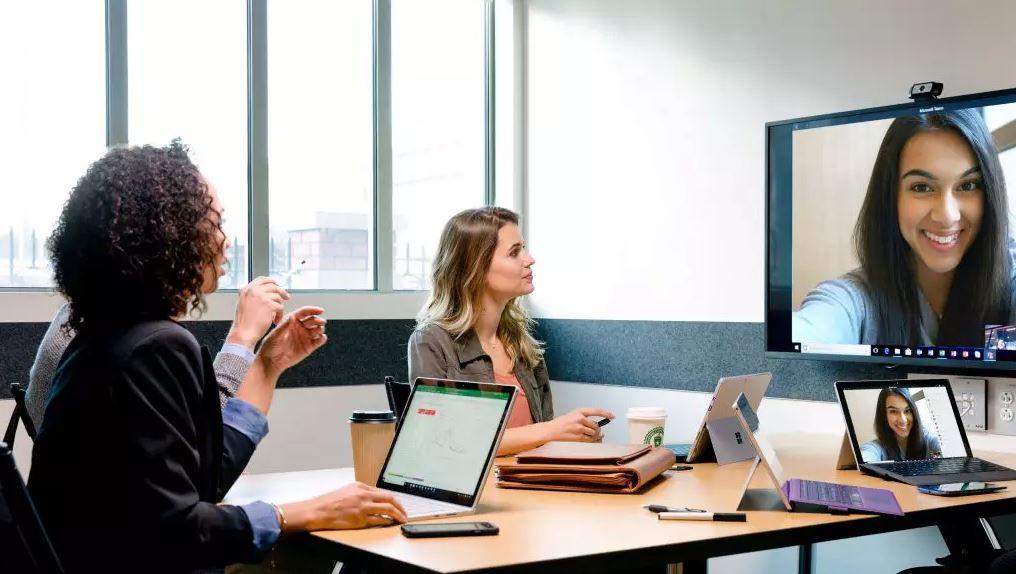 Microsoft Teams recibirá cibercafés, salas de descanso y diseños personalizados