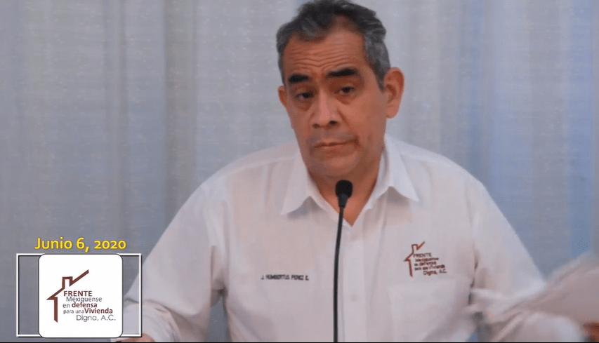 El activista José Humbertus se desentiende de las familias desalojadas de Tecámac