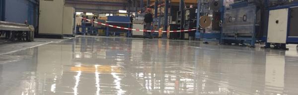 Vloer zware industrie - industriele vloer