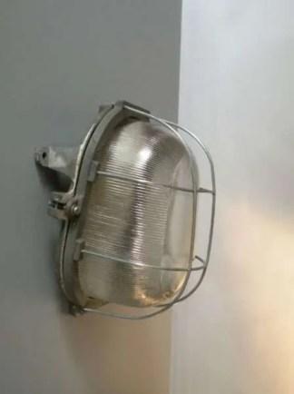 Bunkerlamp vintage 1