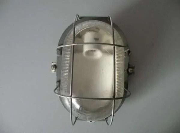 Bunkerlamp vintage