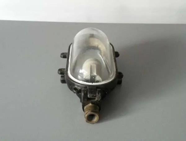Bunkerlamp zwart