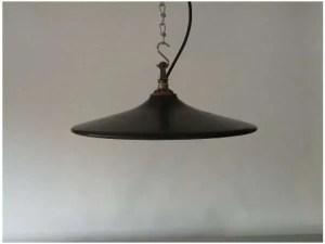 IJzeren lampenkap uit frankrijk 2