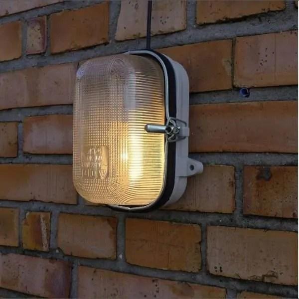 Porseleinen bunkerlamp 2