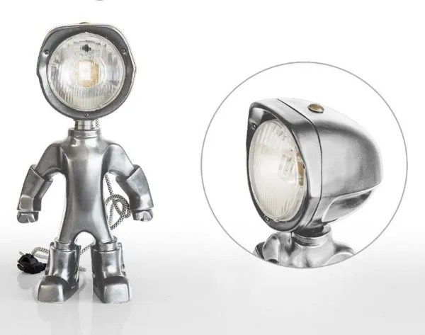 The Lampster Original Zilver