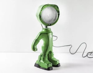 Army lampster groen