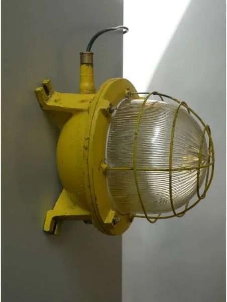 bunkerlamp geel