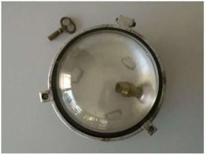 bunkerlamp met sleutel 1