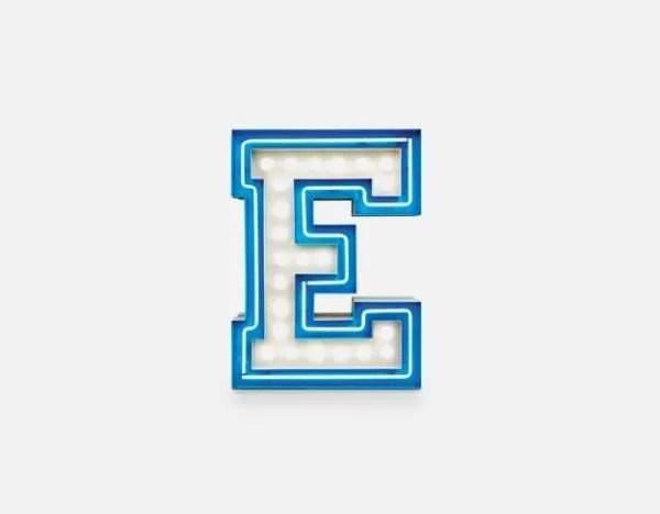 delightfull letterlamp E