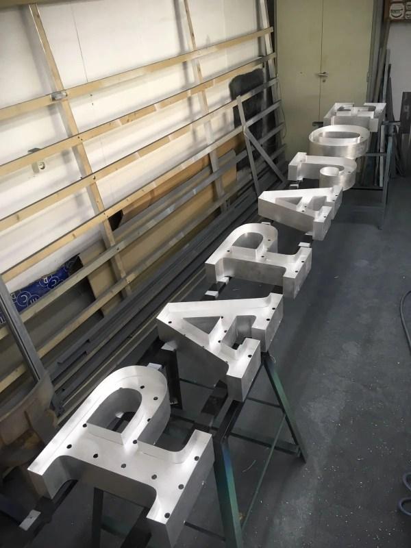 aluminium letterlampen BINK lampen