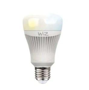 wiz rgb led lamp front