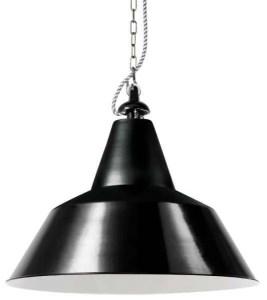 Bielefeld hanglamp zwart groot