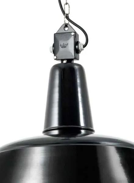 berlin bauhaus hanglamp met glazen stolp detail