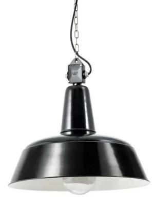 berlin bauhaus hanglamp met heldere glazen stolp