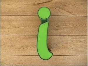 letterlamp groen i 1