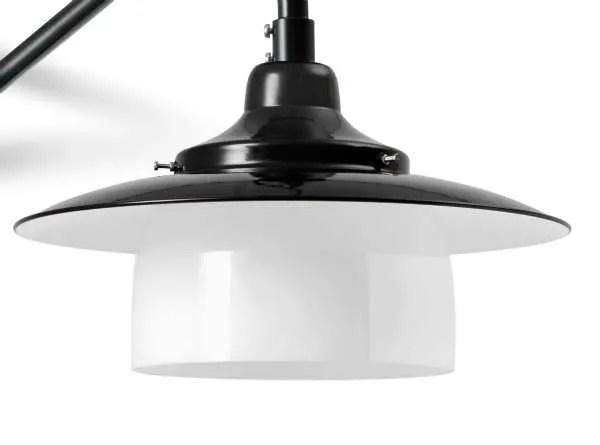 Hannover ring wandlamp detail