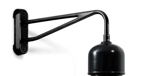 Hof wandlamp haaks detail 2