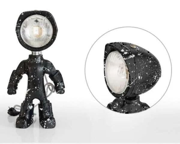 The Lampster artsy zwart