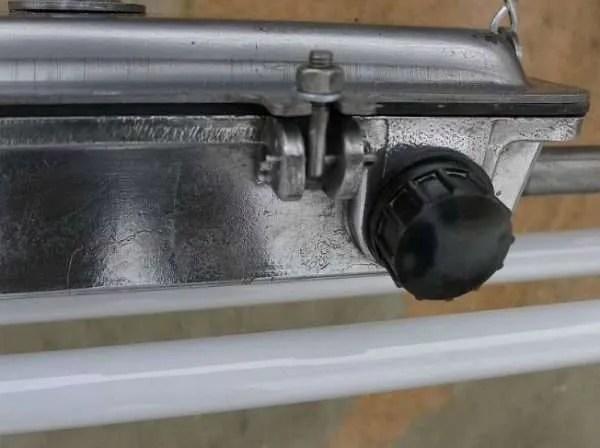 Hanglamp TL balk 4 detail